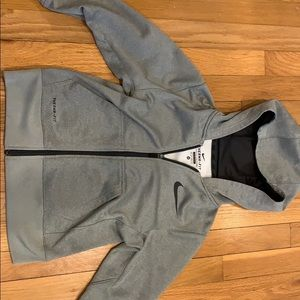 Boys size extra small Nike zip up hoodie